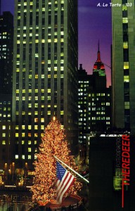 www.theredeer.it, Rockfeller Center, NYC