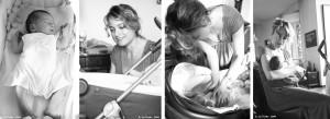 """Bastano 4 foto in fila per descrivere l'amore di una mamma per il proprio bambino? Ovviamente no... ma io ci ho provato lo stesso! ( """"Gea e Rodolfo"""" ph.: A. Lo Torto, Milano '09)"""