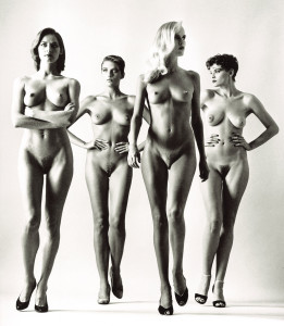 "H. Newton, ""Big Nudes"", 1975 (courtesy of Helmut Newton Foundation, Berlin)"
