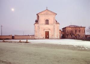 Luigi Ghirri, Cittanova, 1985. Da: Esplorazioni sulla via Emilia (courtesy of specchioincerto.wordpress.com)