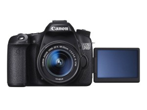 Il generoso touch screen della EOS 70D (courtesy of canon-europe)