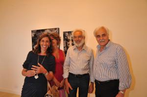 Mimmo Jodice all'inaugurazione della mostra (foto: Fondazione Capri)