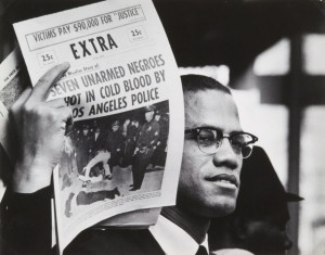 Malcom X, ph.: G. Parks (courtesy of forma.it)