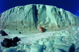 Foto di W. Bonatti, Antartide (quadrante neozelandese). 1976 (courtesy of http://www.clponline.it)