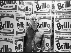 © © Fred McDarrah | Estate of Fred W. McDarrah, Warhol & Brillo Boxes, 1964