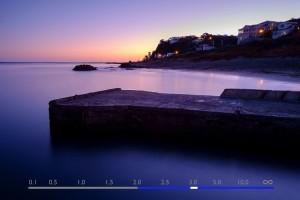 La scala della profondità di campo sulla Fujifilm XT-1 (Foto di A.S. Gibson, courtesy of http://digital-photography-school.com)