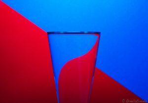 """(1) """"Linee curve"""" della nostra amica Ornella Erminio. Un bell'esempio della forza dei colori complementari"""